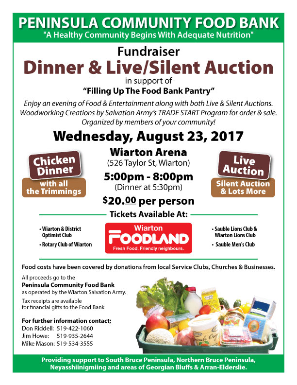 Peninsula Community Food Bank Dinner & Fundraiser